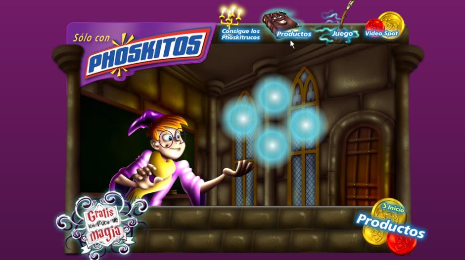 Phoskitos minisite programming