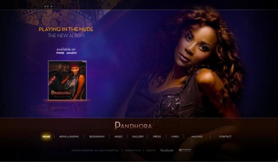 Pandhora website